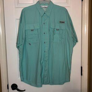 Columbia PFG button up fishing shirt